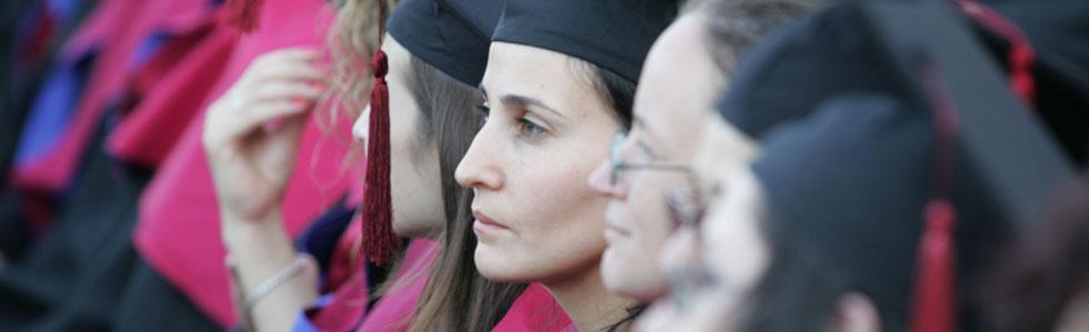 """אוניברסיטת חיפה מברכת את 2,473 מקבלי התואר מוסמך ו- 2,406 מקבלי התואר בוגר לשנת תשע""""ג"""