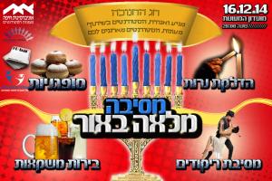 Read more about the article מסיבת חנוכה במעונות הסטודנטים ! ! !