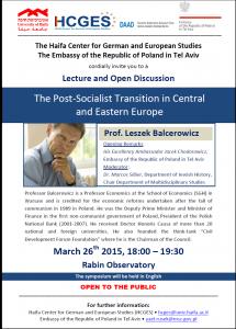 Read more about the article המעבר הפוסט-סוציאליסטי באירופה המרכזית והמזרחית
