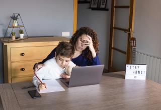 שליש מההורים סבלו מדיכאון במהלך הסגר השני